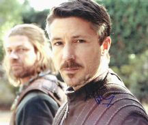 Aidan Gillen Autograph Photo Signed - Game of Thrones